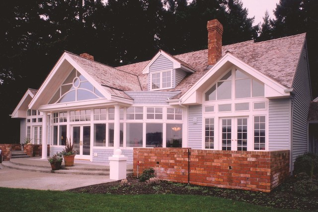 Quantum Windows & Doors | Tom Johnston Associates traditional-exterior