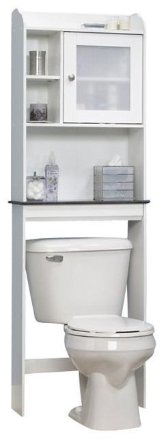 Sauder Caraway Bathroom Cabinet - Contemporary - Bathroom Cabinets And Shelves - by Cymax