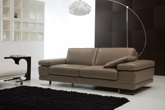 FELLINI Italian Leather Sofa Modern Sofas Newark