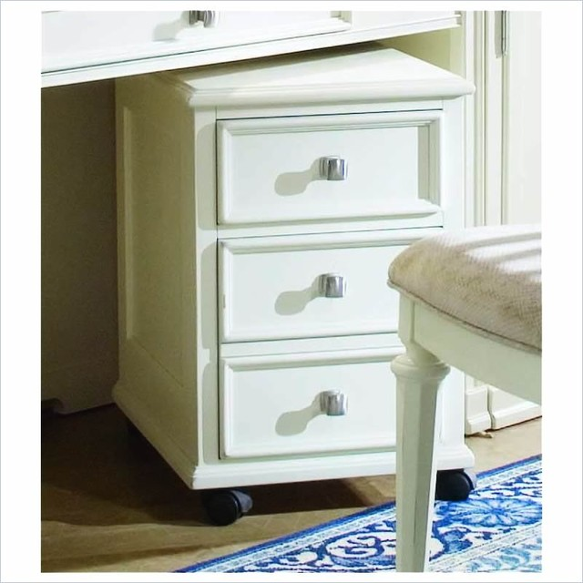... Lateral Wood File Cabinet Antique White traditional-filing-cabinets