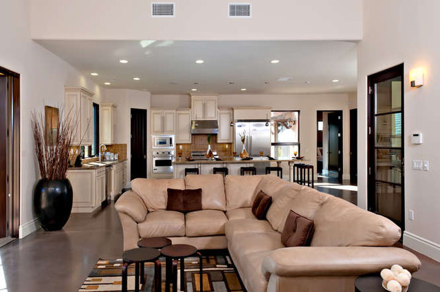 Temecula, Wine Country contemporary-living-room