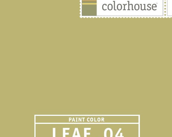 Colorhouse LEAF .04 - Colorhouse LEAF .04: A bold statement - lively, confident and very current. A dramatic hue for gathering spots - living rooms, dining rooms, kitchens and family rooms. LEAF .04 is the least tranquil of the LEAF hues.