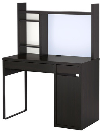 MICKE Workstation Contemporary Desks And Hutches By IKEA
