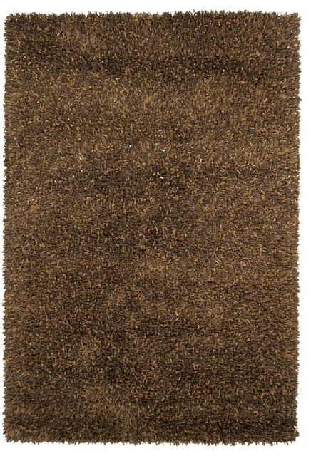 Shag gianna round 7 39 9 round yellow area rug modern for Area rugs round contemporary