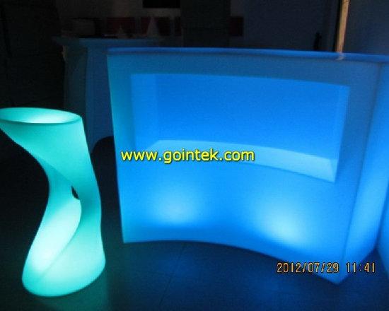 modern led bar table -