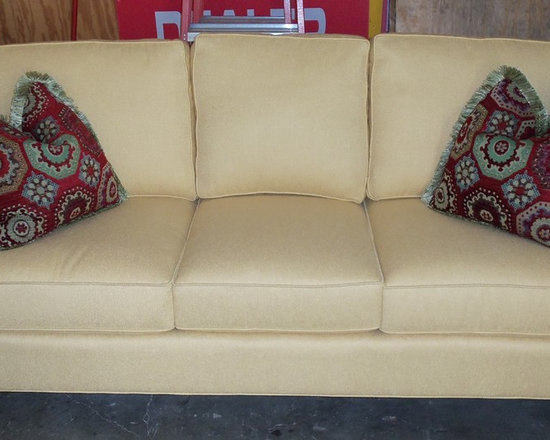 King Hickory - Customer Custom Orders - King Hickory Chatham Sofa - You Choose the Arm Style and Skirt or Legs