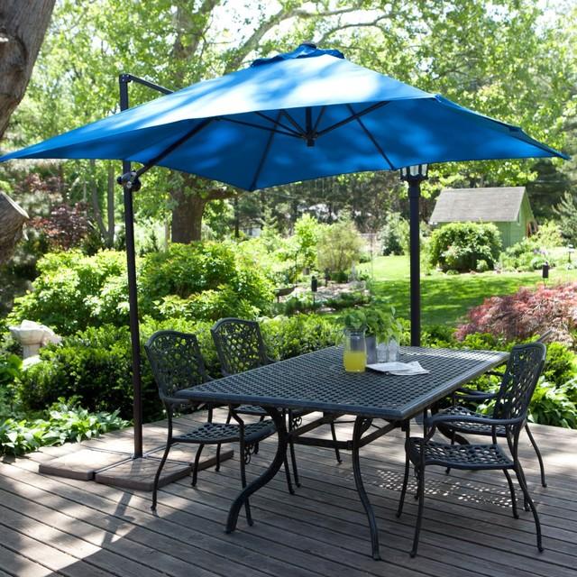 10 Ft Square Cantilever Umbrella In Beige Sunbrella Acrylic Patio .
