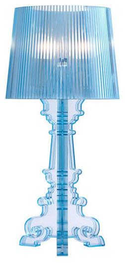 Salon S Table Lamp Aqua contemporary-table-lamps