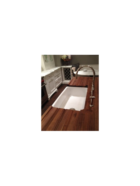 Drain Boards in Wood Countertop -