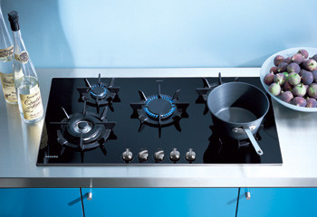 Miele Gas Cooktop modern-cooktops