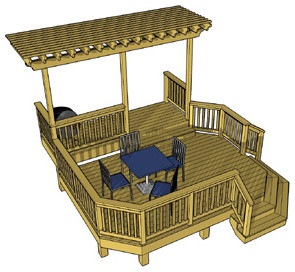 Deck plans free to download traditional