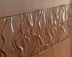 Custom Wood Cabinet Panels modern-kitchen-cabinets