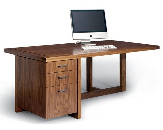 Offset Desk -