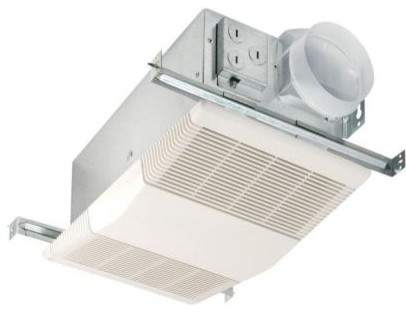 Bathroom Exhaust   Heater on Bath Fans  Nutone Exhaust Fan  Heat A Vent 70 Cfm Ceiling Exhaust Fan