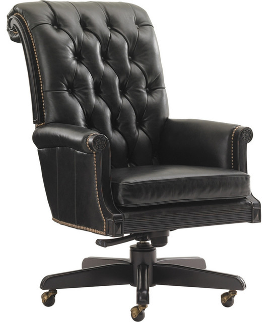 Black Desk Chair black desk chair - gallery image seniorhomes