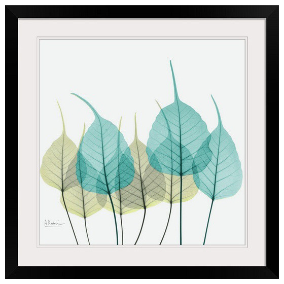 Blue And Green Bodhi Tree X Ray Wall Art From Www