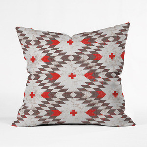 Gray Native Pillow Cover industrial-decorative-pillows