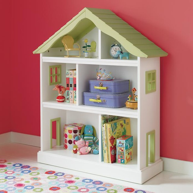 Dollhouse Bookcase - Modern - Kids Decor - by The Land of Nod