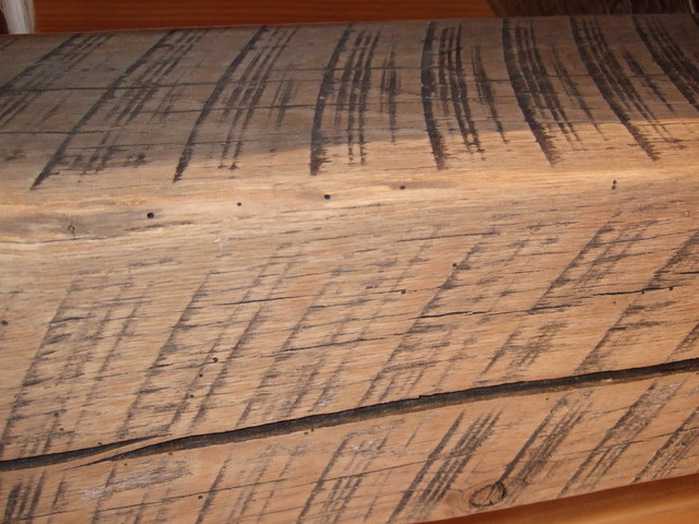 Circle Sawn Wood ~ Circle sawn oak timber