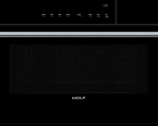 "Wolf 30"" E Series Contemporary Convection Steam Oven Black | CSO30CM - Wolf 30"" E Series Contemporary Convection Steam Oven Black | CSO30CM"