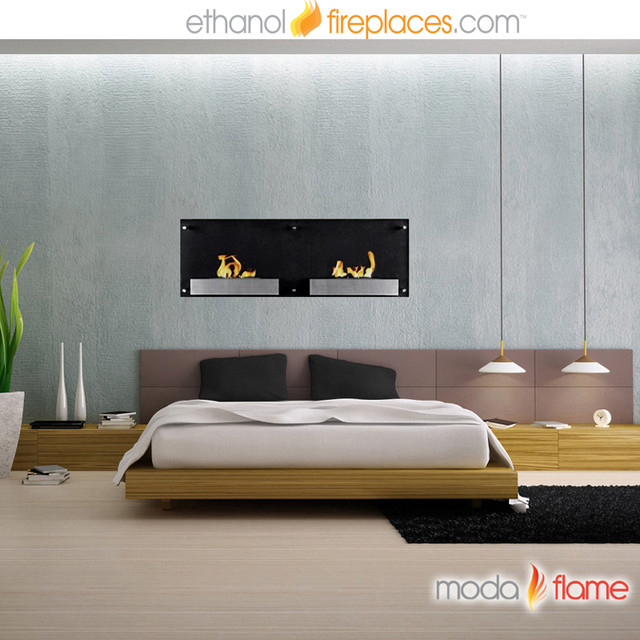 Wall Mounted Ethanol Fireplaces contemporary-indoor-fireplaces
