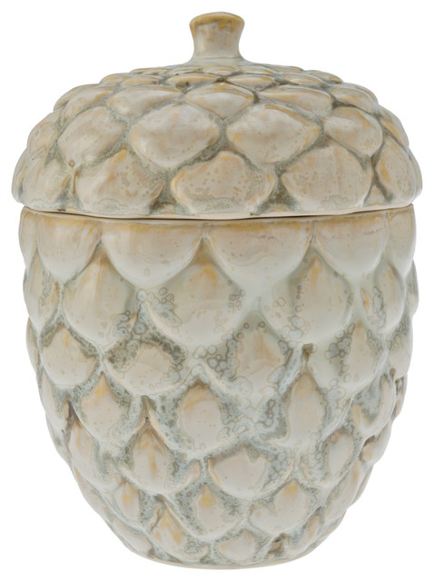 Candy and Cookie Jar in Pine Cone Shape - Contemporary ...