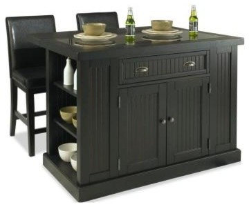 Home Styles Kitchen Island. Nantucket Kitchen Island in Distressed