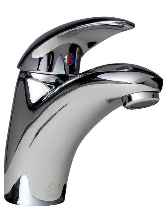 "MR Direct 722-c Chrome Single Handle Bathroom Faucet - The 722 Single Handle Lavatory Faucet is made with solid brass waterway construction and is available in a brushed nickel, oil-rubbed bronze or chrome finish. It works great with overmount and undermount bathroom sinks and is ADA approved. The dimensions for the 722 are 6 1/2"" tall with a 6"" spout reach. This faucet is pressure tested to ensure proper working conditions and is covered under a lifetime warranty. The 722 is so classic looking, it is sure to complement any bathroom."