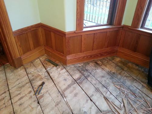 Need help choosing new hardwood floors to go with pine trim for Hardwood floors with white trim