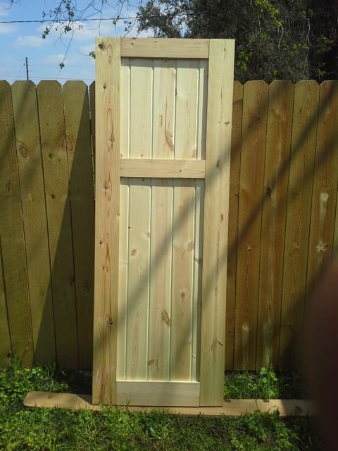 Custom Sliding Barn Doors traditional