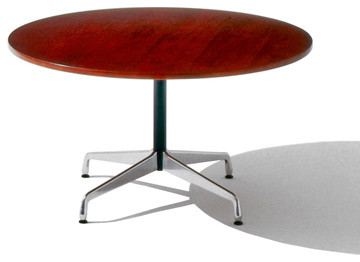 Eames Round Table, Segmented Base modern-side-tables-and-end-tables