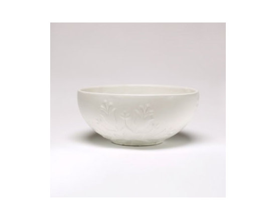 Beehive Harmonie Serving Bowl - Inspired by folk art from around the world, the Harmonie Serving Bowl by Beehive is designed to be as practical as it is beautiful.