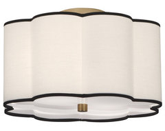 Axis Semi Flush Mount contemporary-flush-mount-ceiling-lighting