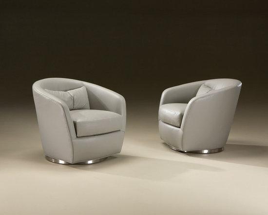 Thayer Coggin - Turn Swivel Chairs from Thayer Coggin -