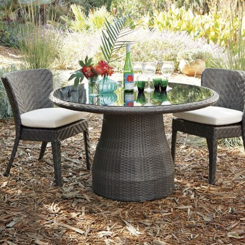 Hoyt Dining Collection - contemporary - patio furniture and
