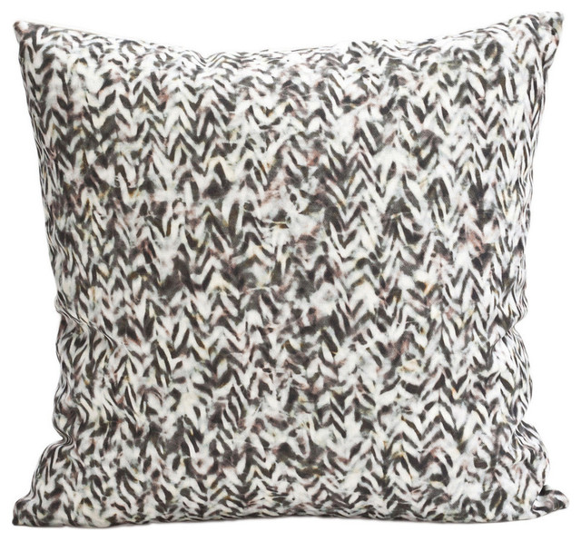 Chevron Pillow, Rose + Gold - Modern - Decorative Pillows - by Carley Kahn LLC