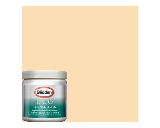 Glidden Crisp Linen White Interior Paint -