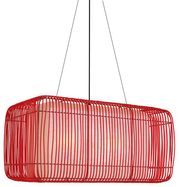Hive Geisha Pillow Outdoor Hanging Lamp modern-outdoor-lighting