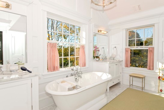 Captains Master Bath eclectic bathroom