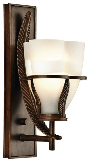 """Asian Forecast Lita Collection 12 1/4"""" High Wall Sconce traditional-wall-lighting"""