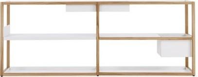 Lap Shelving Low Frame modern-wall-shelves