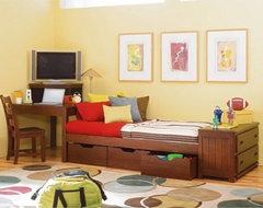 Lea Industries Dillon Corner Desk Platform Bed contemporary-kids-beds