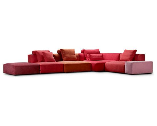 Eilersen - Block Sofa - Alternate the elements - simple and convenient