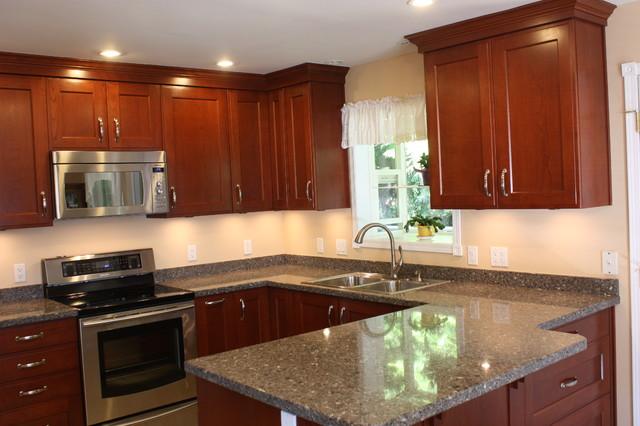 Tsawwassen Kitchen Renovation traditional-kitchen-countertops