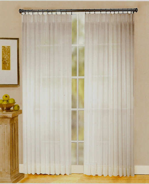 Pinch Pleat Curtains Traditional Curtains Other