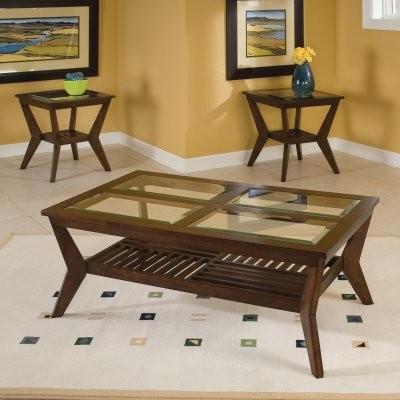 Standard Furniture Norway Coffee Table with 2 End Tables modern-coffee-tables