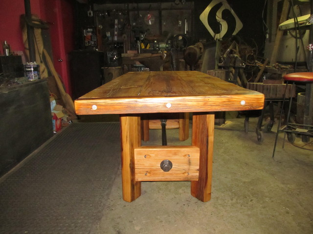 harvest table traditional-dining-tables