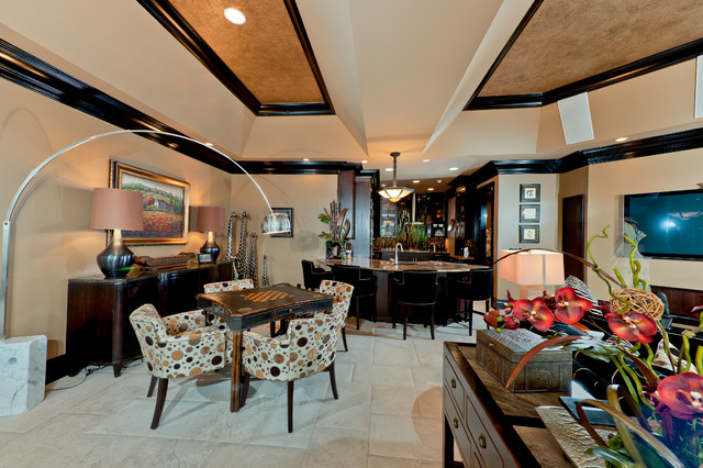 """Remodel:  Whole House """"Let's Spice Things Up A Bit"""" eclectic-family-room"""