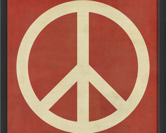"""The Artwork Factory - """"Peace"""" Print - Ready-to-Hang, 100% Made in the USA, museum quality framed artwork"""