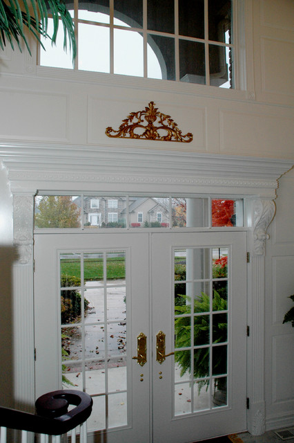 Custom Double Entry Doors traditional-entry